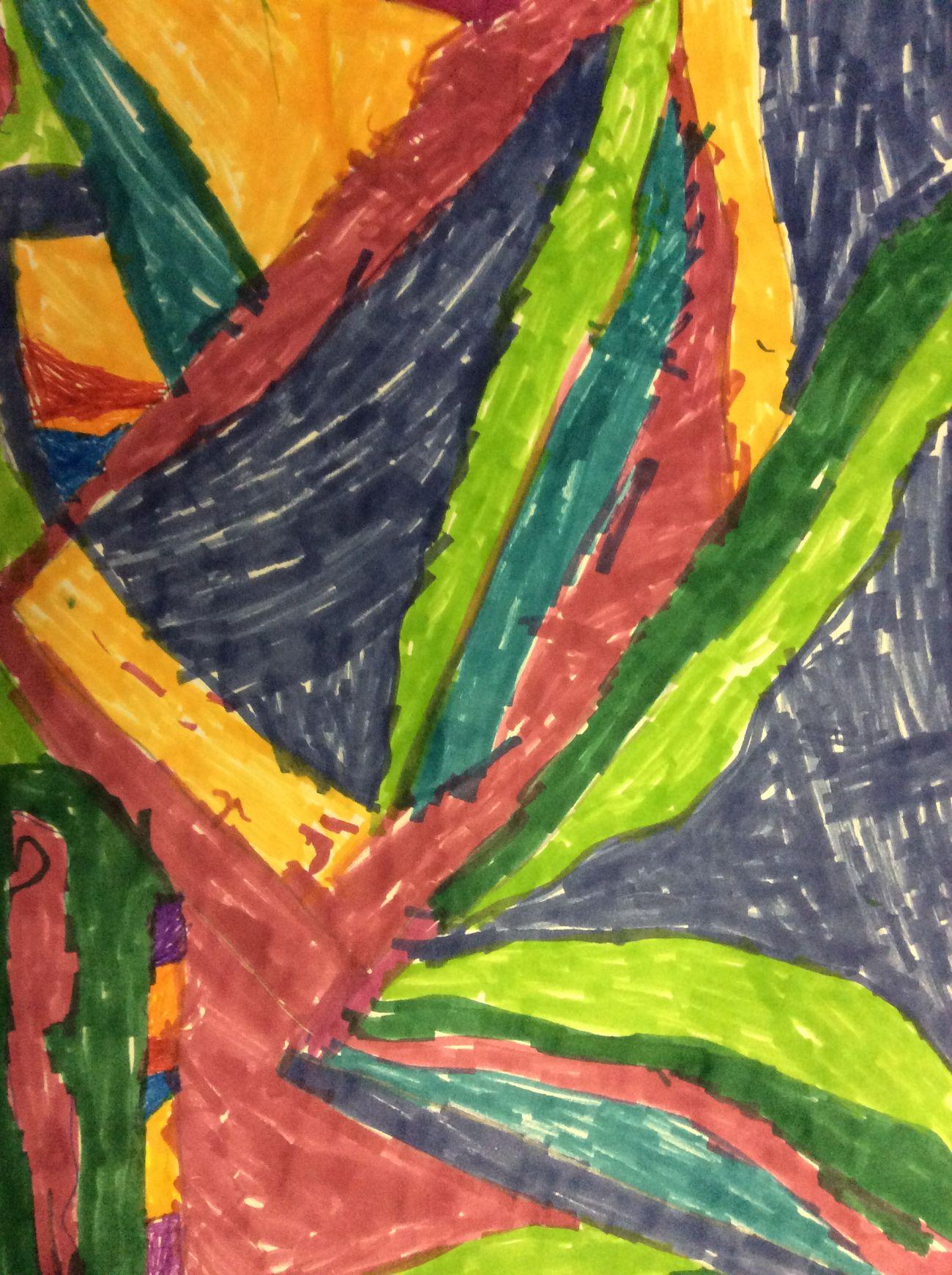 """Mountian art"". By Bract Chamberlain"