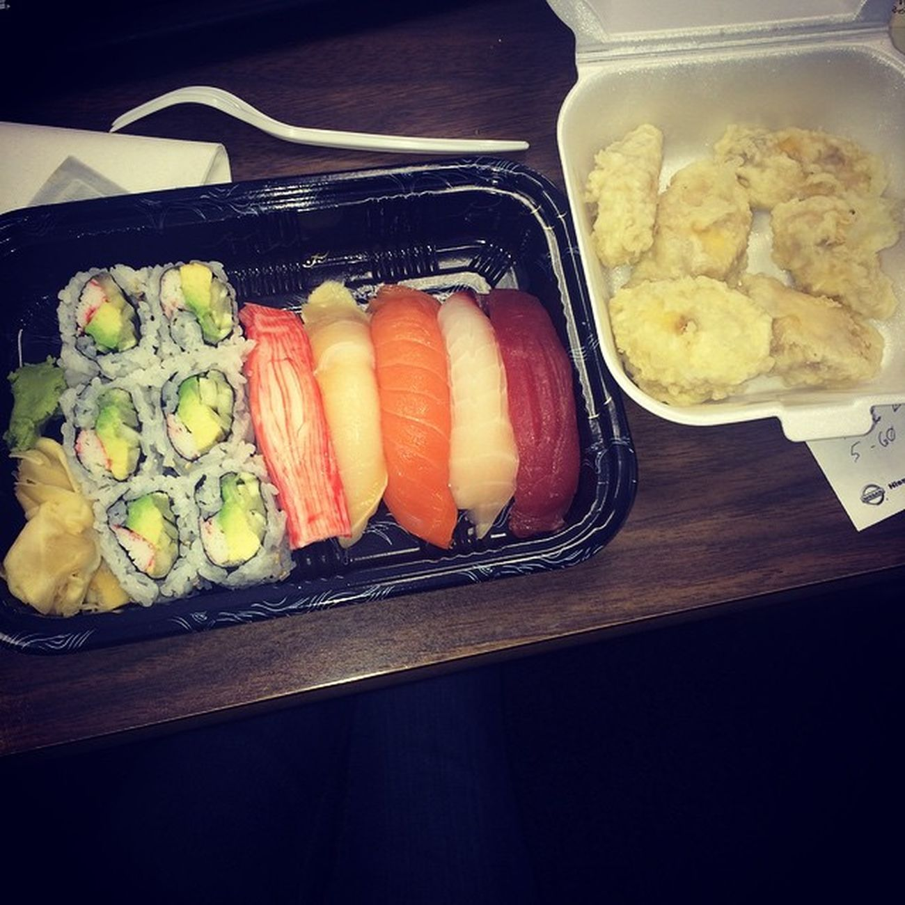 Sushi Friedbananas Work Lunch Asianfood ❤️