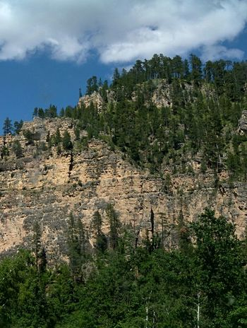 Sky_collection United States Southdakota Mountain Spearfish Canyon Mountains And Sky