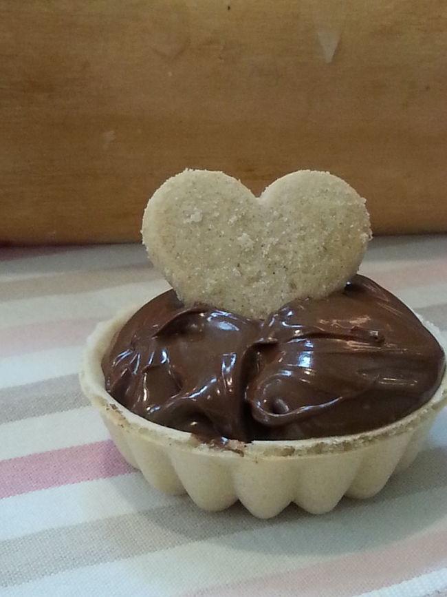 Cake Time Cake Nougat Creme Heart food Gift waffle