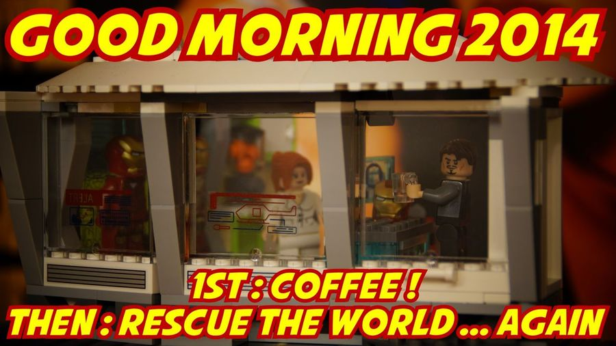 Happynewyear2014 LEGO Superheroes Coffee
