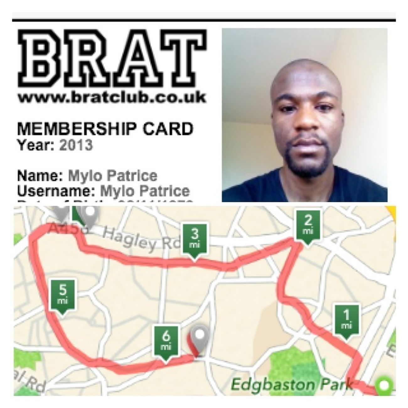 Running Newclub Membership GPS