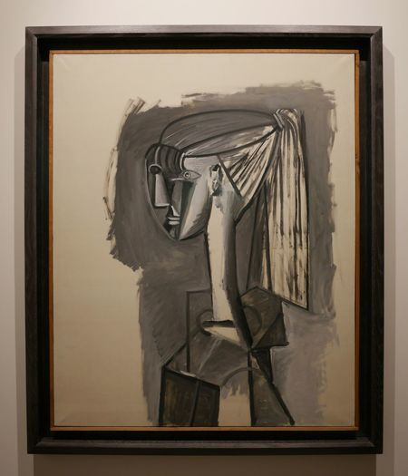 Creativity ArtWork Expo Complexity Painting Cubism Pablo Picasso Art Museum Artist Aveyron Musee Soulages Rodez Picasso Museum Rodez Soulages Painted Image Soulages Museum Human Representation Culture Human Face Picasso Art  Facial Expression Picass
