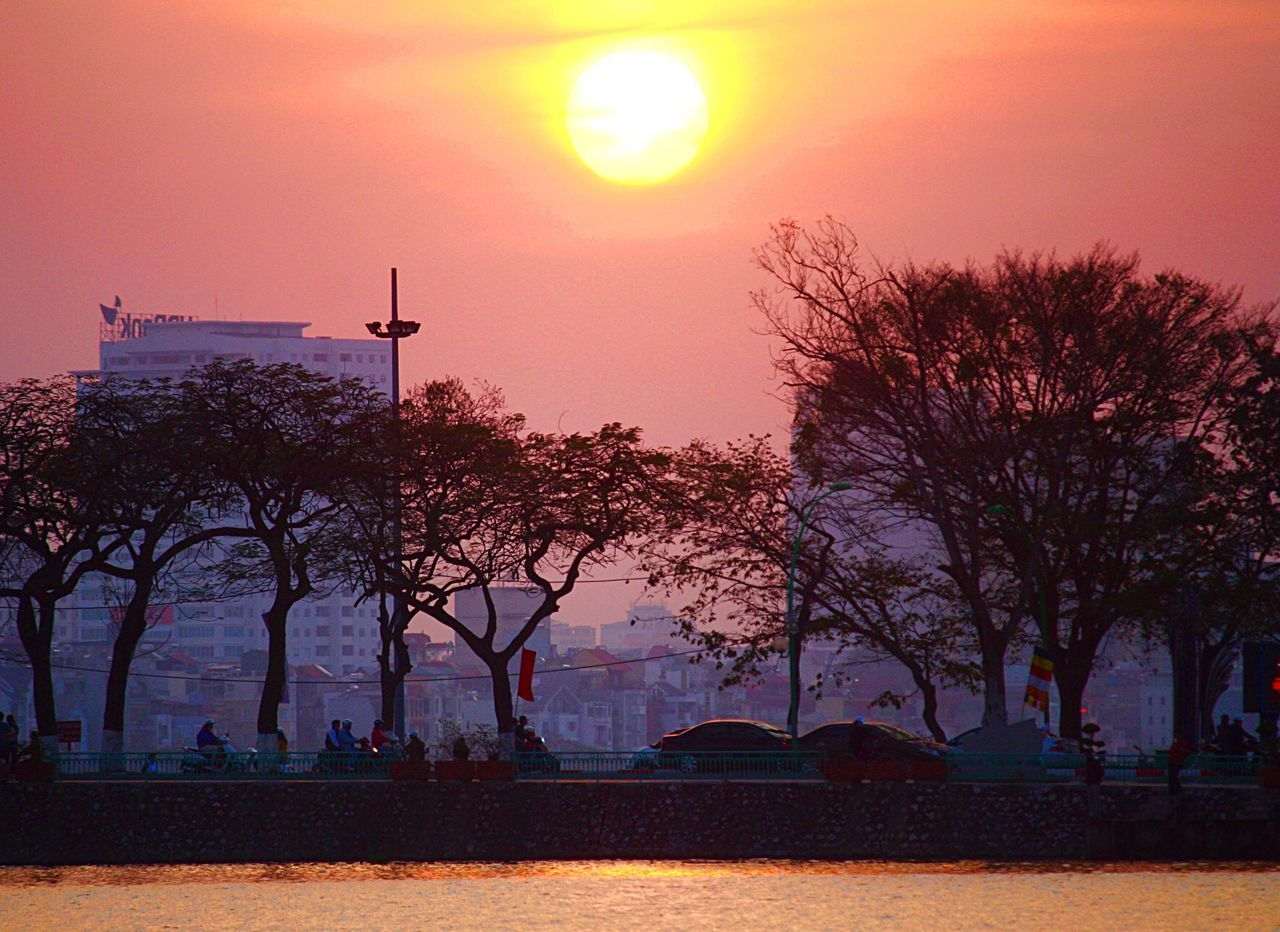 Truc Bach Lake, Hanoi Sunset, Truc Bach, Vietnam Ba Dinh, Vietnam Hanoi, Vietnam Truc Bach Lake