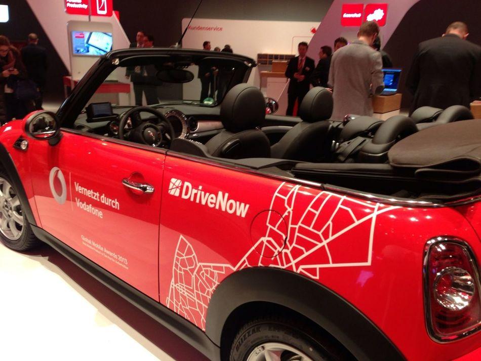 Vodafone Meets DriveNow #CeBit