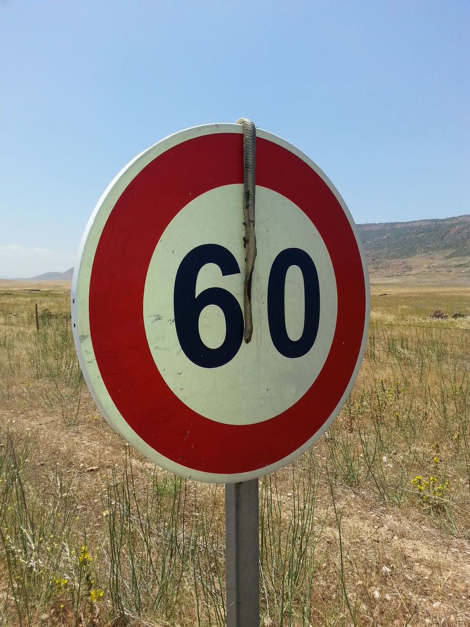 #baghzaf Circle Close-up Communication Day Field Guidance Outdoors Red Road Sign Speed Limit Sign
