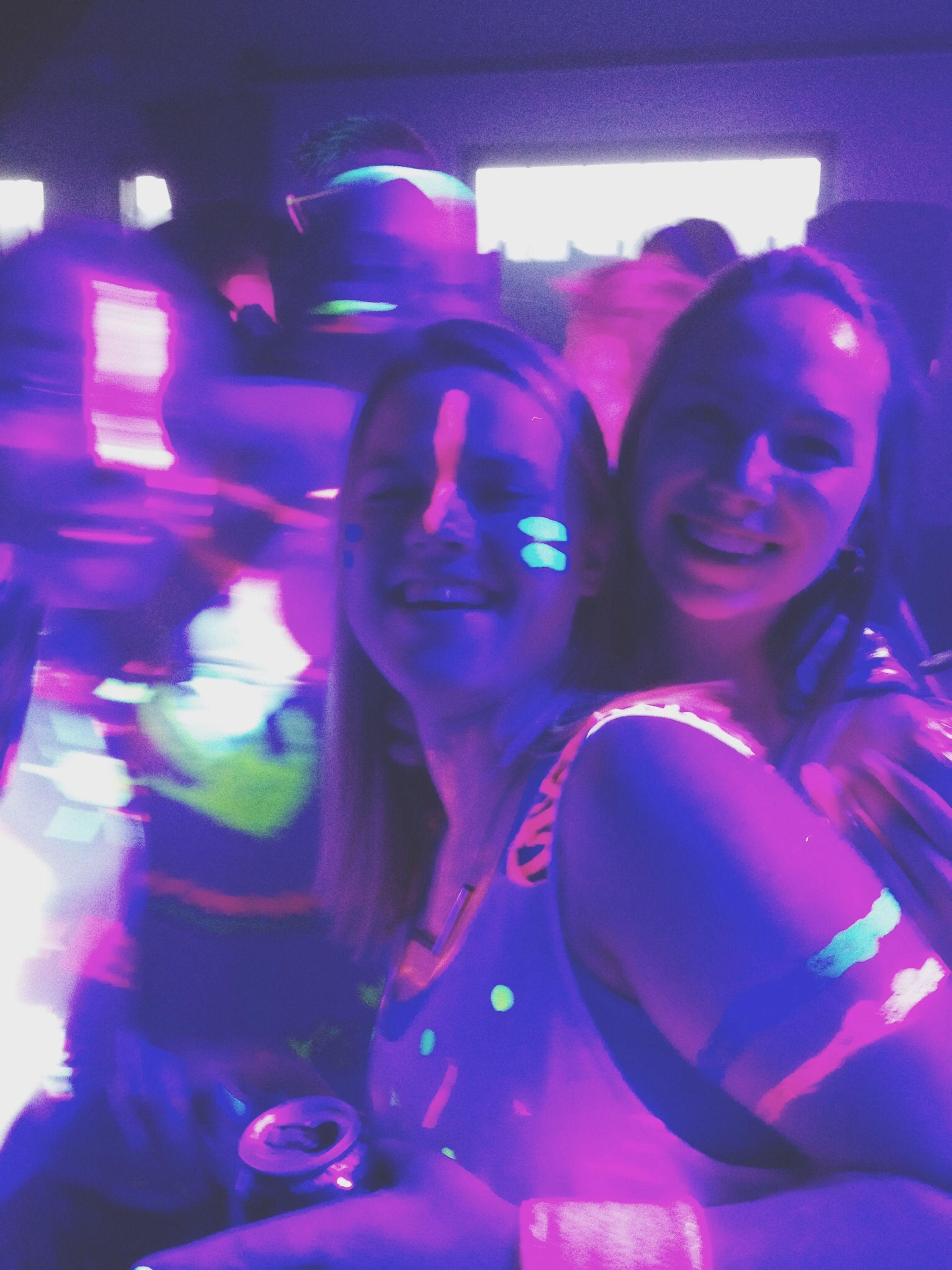Rave Party Enjoying Life People