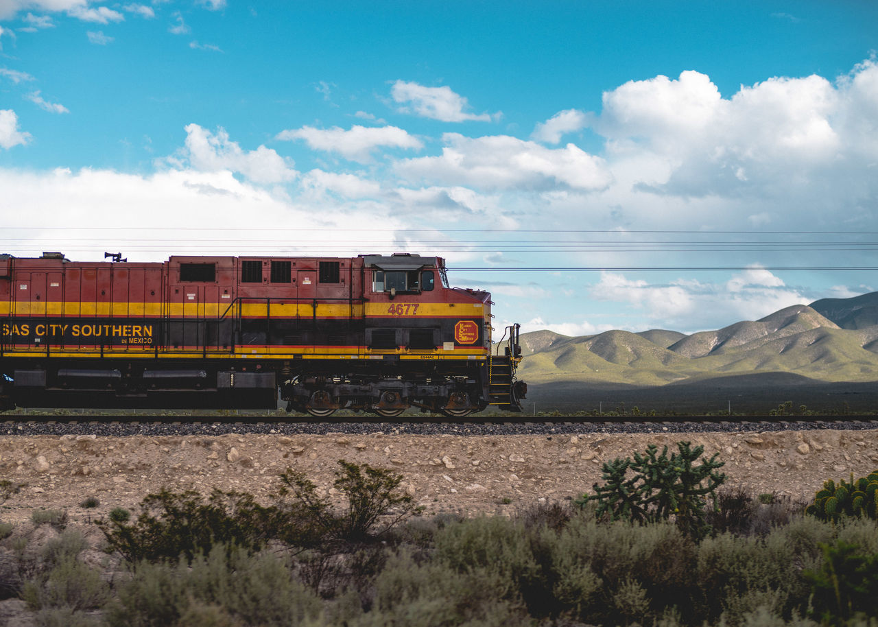 Cloud - Sky Day Desert Landscape Landscape_Collection Mexico Mode Of Transport Mountain Nature No People Outdoors Real De Catorce San Luis Potosí Scenics Sky Train Train - Vehicle Train Station Train Tracks Tranquility Transportation Travel Travel Destinations Travel Photography Neighborhood Map