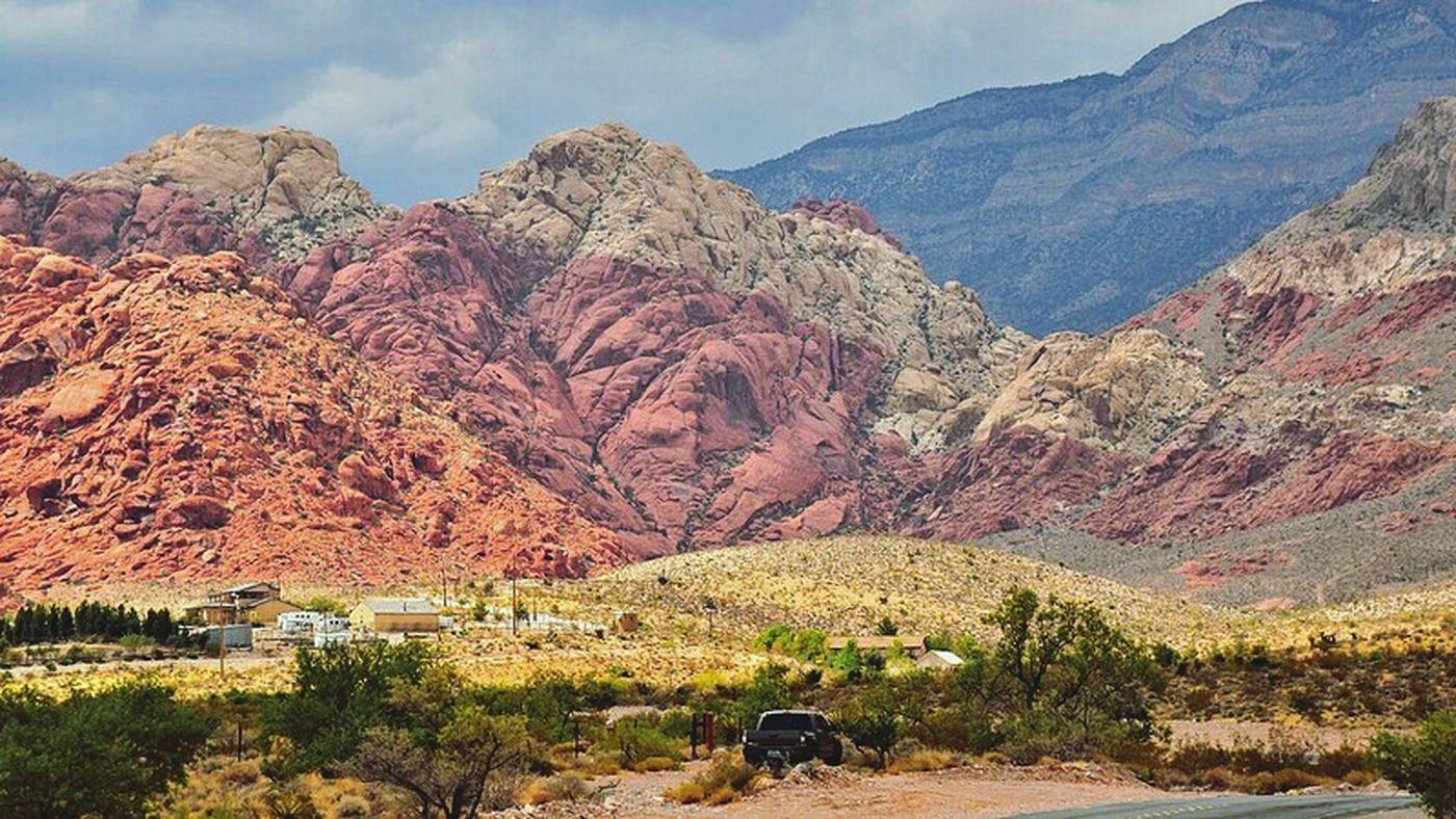 Redrockcanyon Las Vegas Nevada Nature Enjoying Life