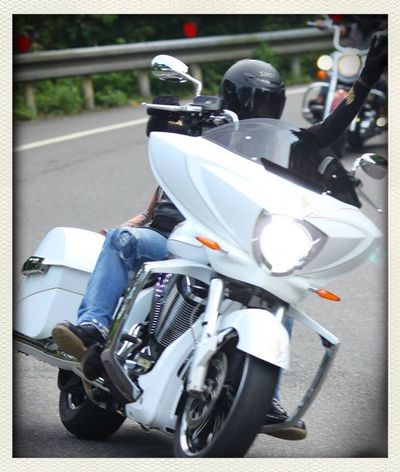 take ride with my friends