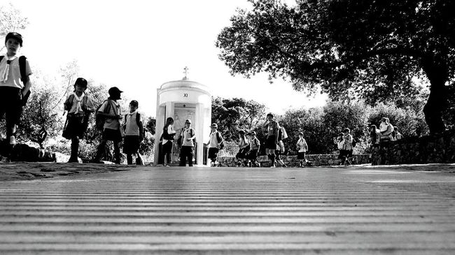 The Scouts ... Black and white photo.. EyeEm Best Shots - Black + White Eyeem Monochrome EyeEm Black&white! Love Black And White Shrine Scouts Time Scouts EyeEm Gallery Photography