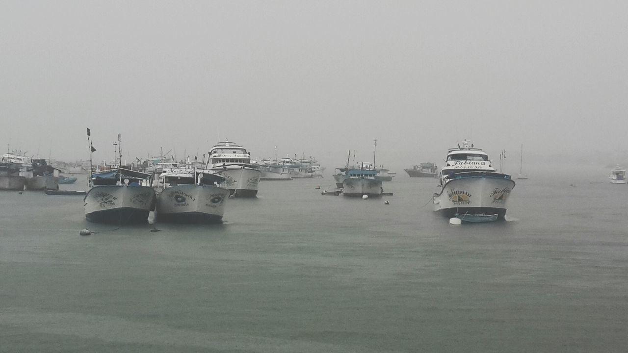 Nautical Vessel Transportation Environment Water Harbor No People Outdoors Sky Day Rainy Season Winter Commercial Dock Shipping  Raining Day Rain Weather