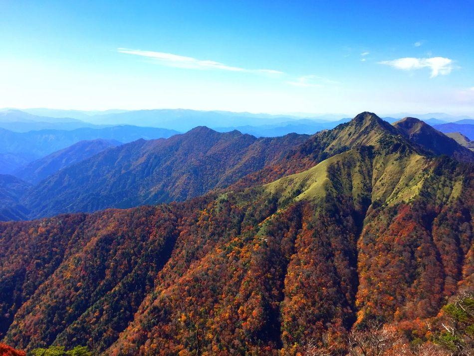 愛媛 石鎚山 Cloud And Sky 紅葉 Autumn Colors Authentic Moments