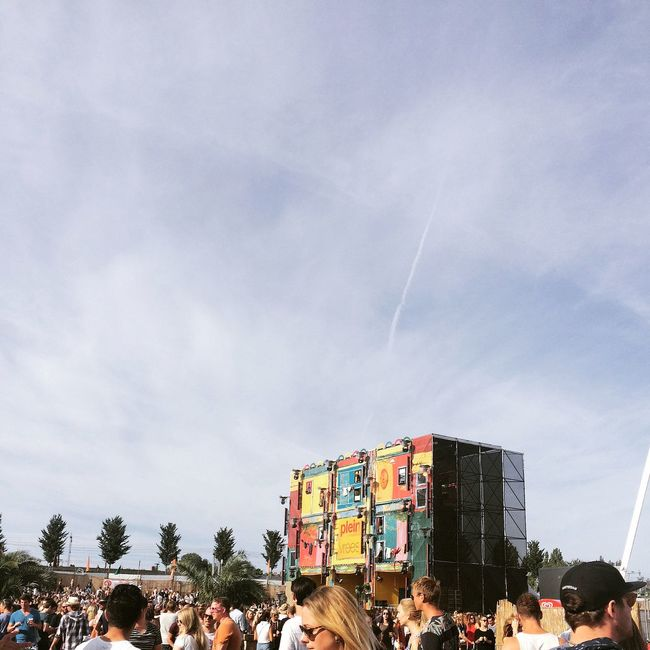 Buitenwesten Festival Enjoying The Sun Having Fun Fun