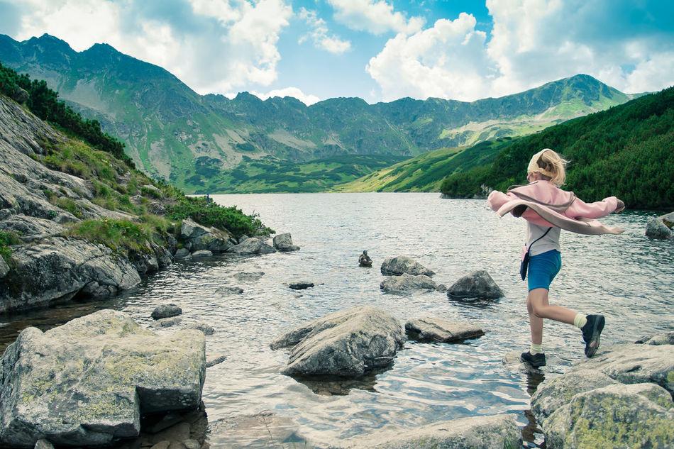Beautiful stock photos of spaß,   Tatra Mountains,  Adventure,  Agility,  Beauty In Nature