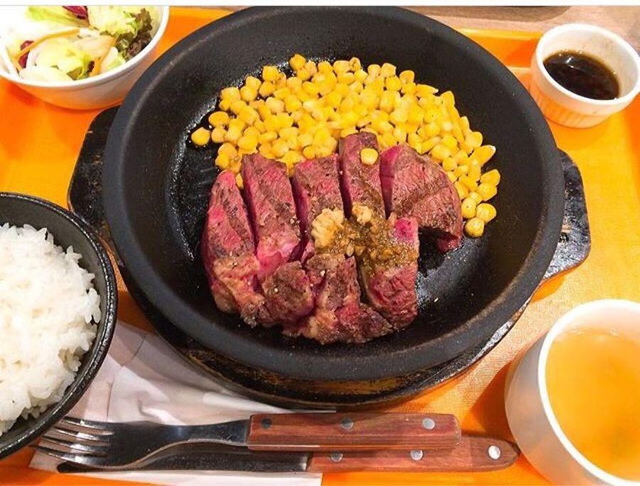 いきなり!ステーキ サーロイン おいしかったー! いきなりステーキ
