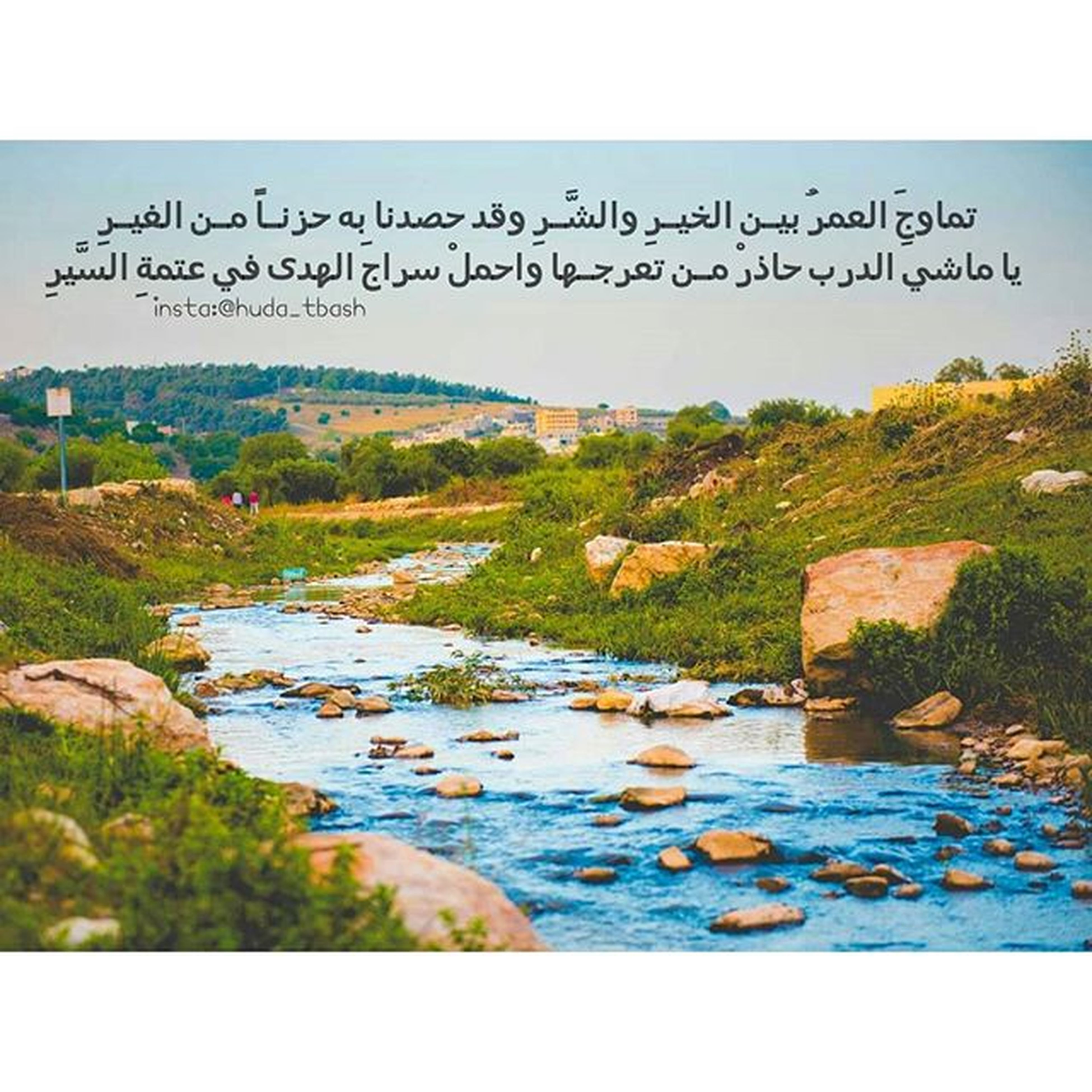 water, transfer print, auto post production filter, tranquility, tranquil scene, clear sky, scenics, nature, beauty in nature, tree, lake, river, blue, plant, rock - object, sky, day, landscape, grass, outdoors