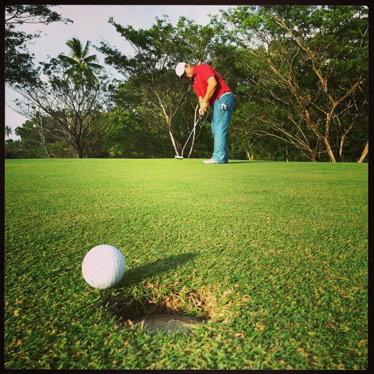 My father's putt Golf Golfing Putting Golfputt