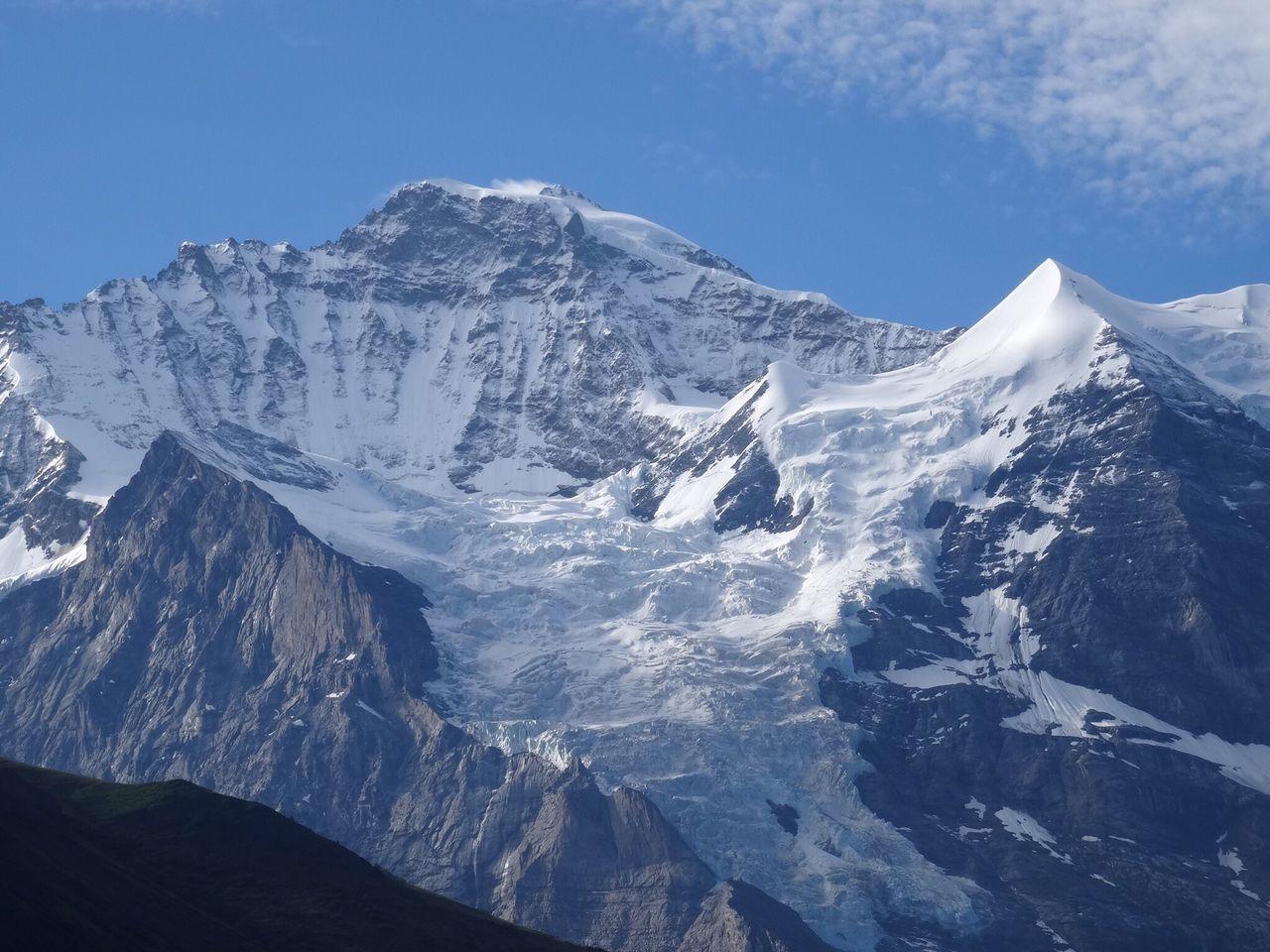 Jungfrau Glacier Switzerland