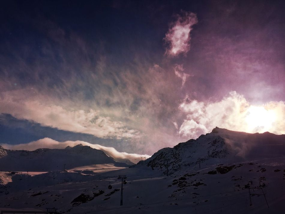 Dramatic sky EyeEm Nature Lover Nature_collection Naturelovers Mextures Mexturesapp Melancholic Landscapes Clouds And Sky Sky_collection Streamzoofamily Austria Tadaa Community Pitztaler Gletscher Mountains