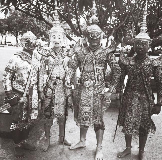 Khon-Thai traditional Work Creative Event