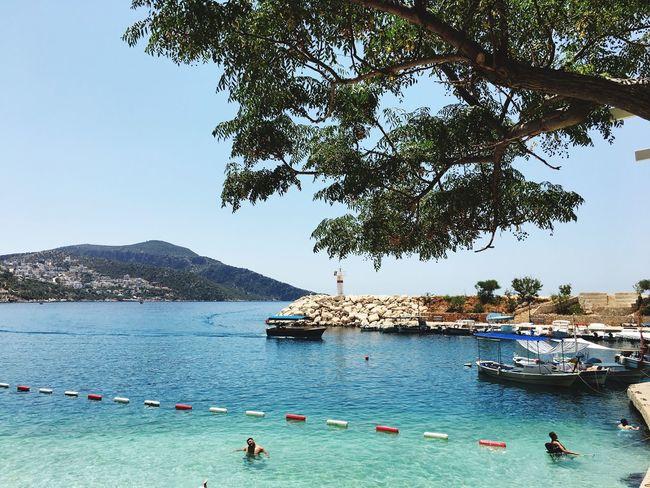 Kalkanmarina Beach Sea Turkey Antalya Amazing View