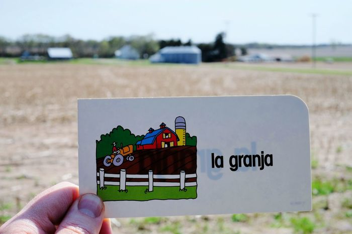 No hablo mucho español RePicture Learning On The Farm Taking Pictures Spanish Class Curious Our Language A Day In The Life Picoftheday LearningEveryday Americano