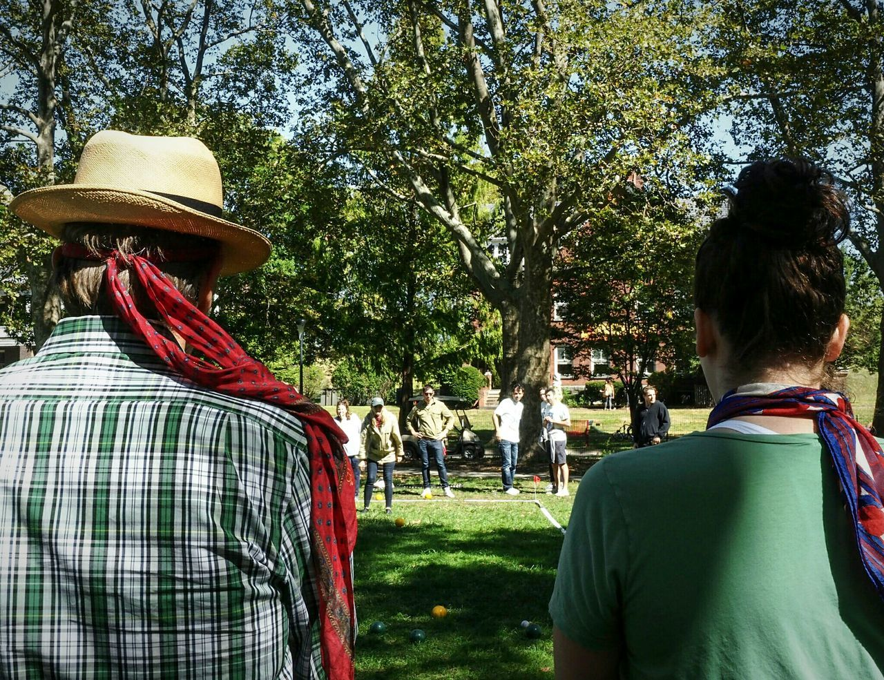 Bocci tournament EyeEmonGI Tree Person Outdoors Day Lensculture Nusevoice NYC Photography Peopleofnyc Color Photography People Watching Calminthechaos Governorsisland Streetphotography Competition Playing Leisure Activity Travel Destinations Everybodystreet Close-up People And Places