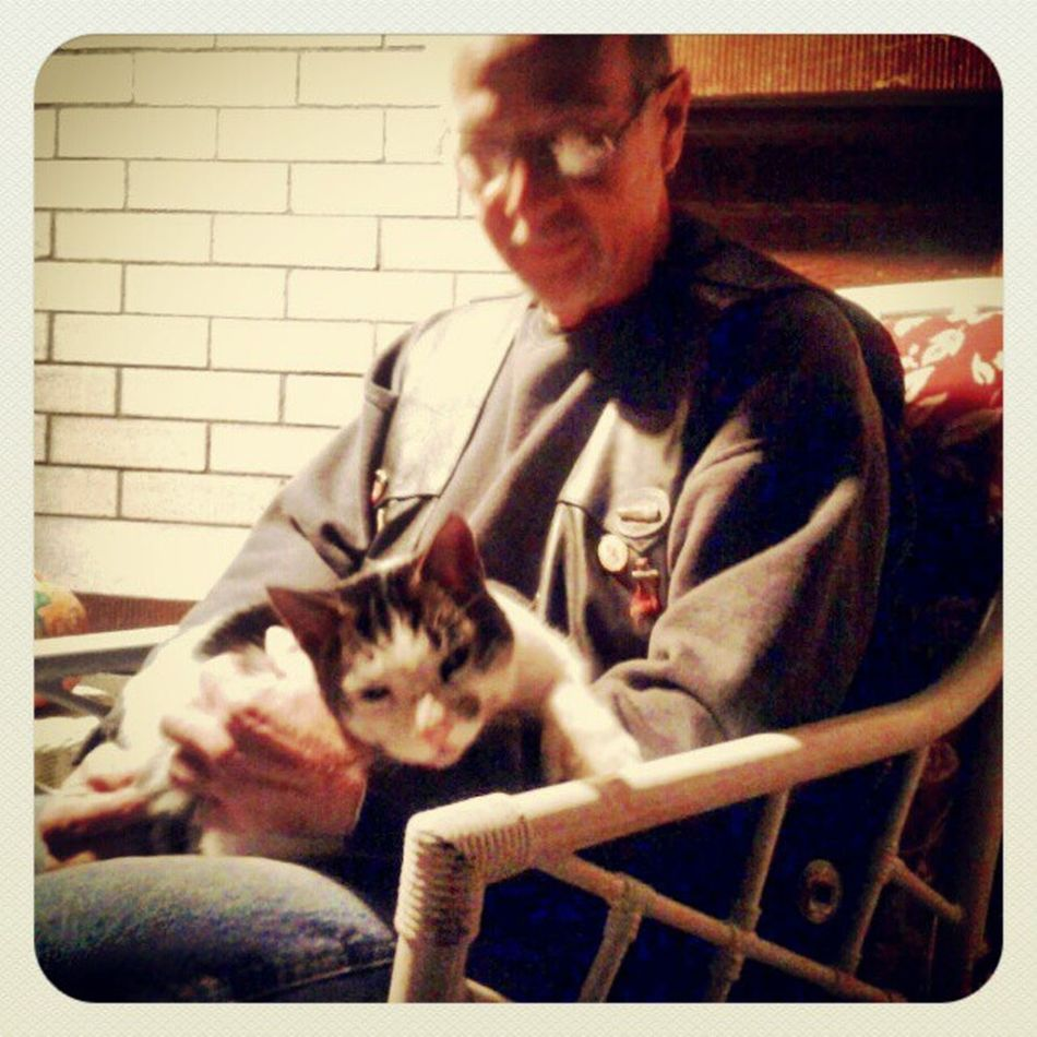 My Father and Munchie <3
