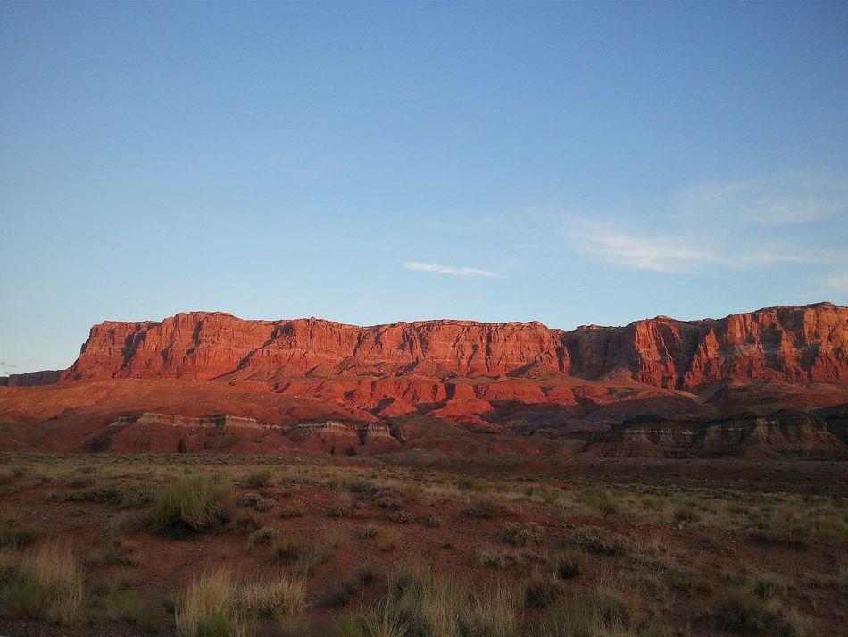 Keep glowing! RoadTripxUSA Vermilion Cliffs Arizona