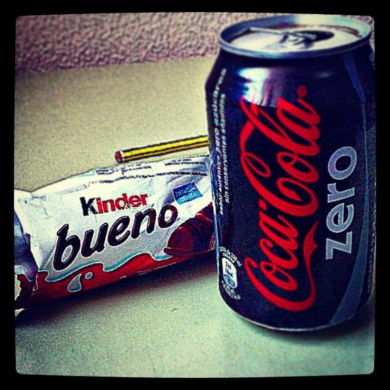Breakfast Desayuno Ideal En inclassclaseKinderBueno y CocaColaZero