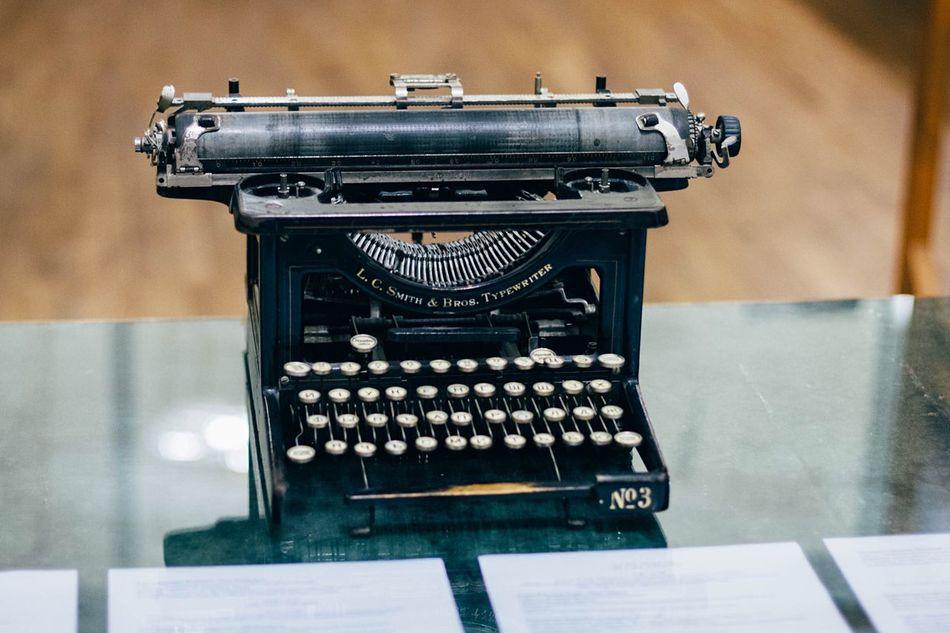 Typewriter Old Old Things Museum Vladimirnabokov Saint Petersburg Taking Photos Eye4photography