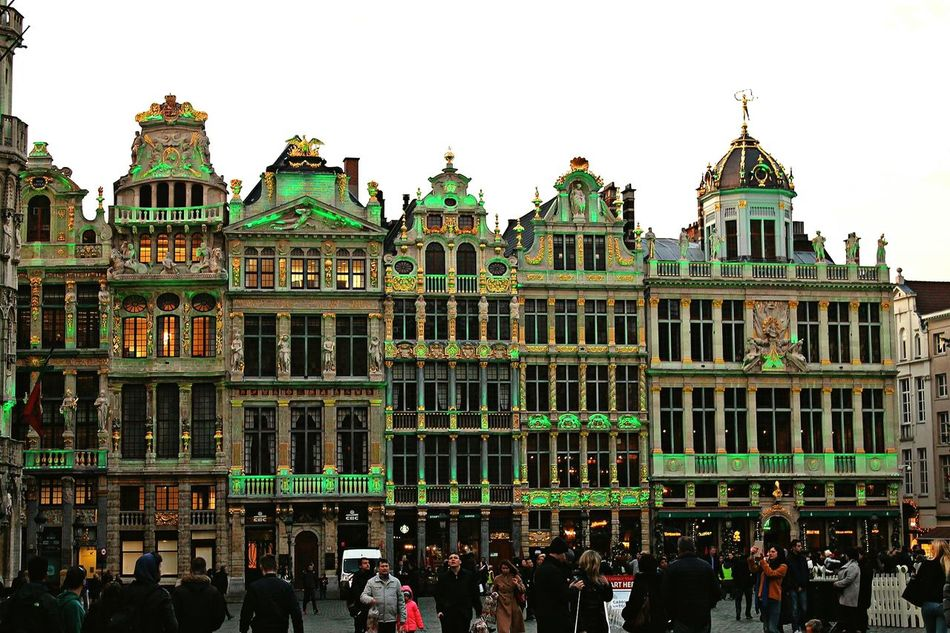 City Building Exterior Travel Destinations Architecture Cityscape Travel Photography Capture The Moment My Point Of View Belgium Stolenmoments The Way Forward Grand Place Bruxelles Bruxelles