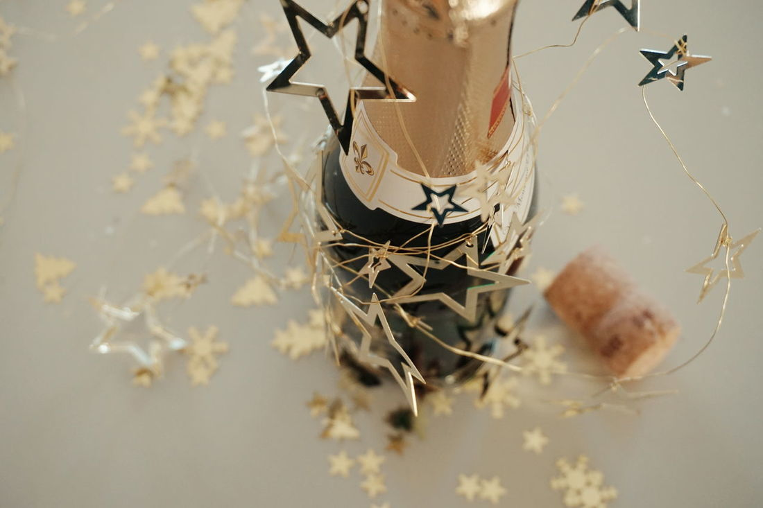 new year Alcohol Wine Salute New Year Bottles Collection Wine Bottle Alkohol Celebration Event Drink Night Postcard Celebration Golden Gold Christmas Refreshment Prosecco Celebratory Toast Celebrating Bottles Champagne Flute New Years Eve Food And Drink Close-up Champagne Wine Moments