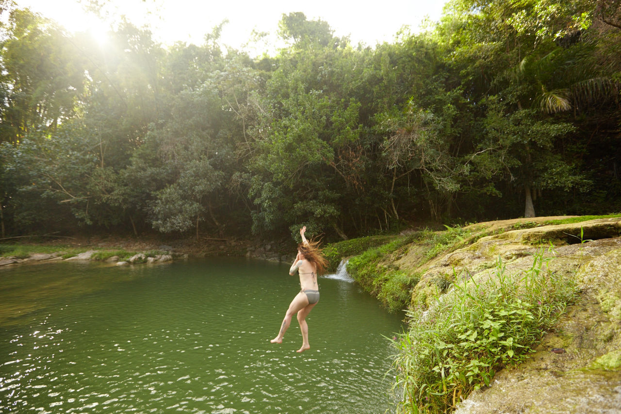 Banos del San Juan, Las Terrazas, Cuba Banos Del San Juan Cuban Country Cuban Life Ecoresort Ecotourism Get Outside Green Jumping Jungle Las Terrazas Nature Secluded  Swimming