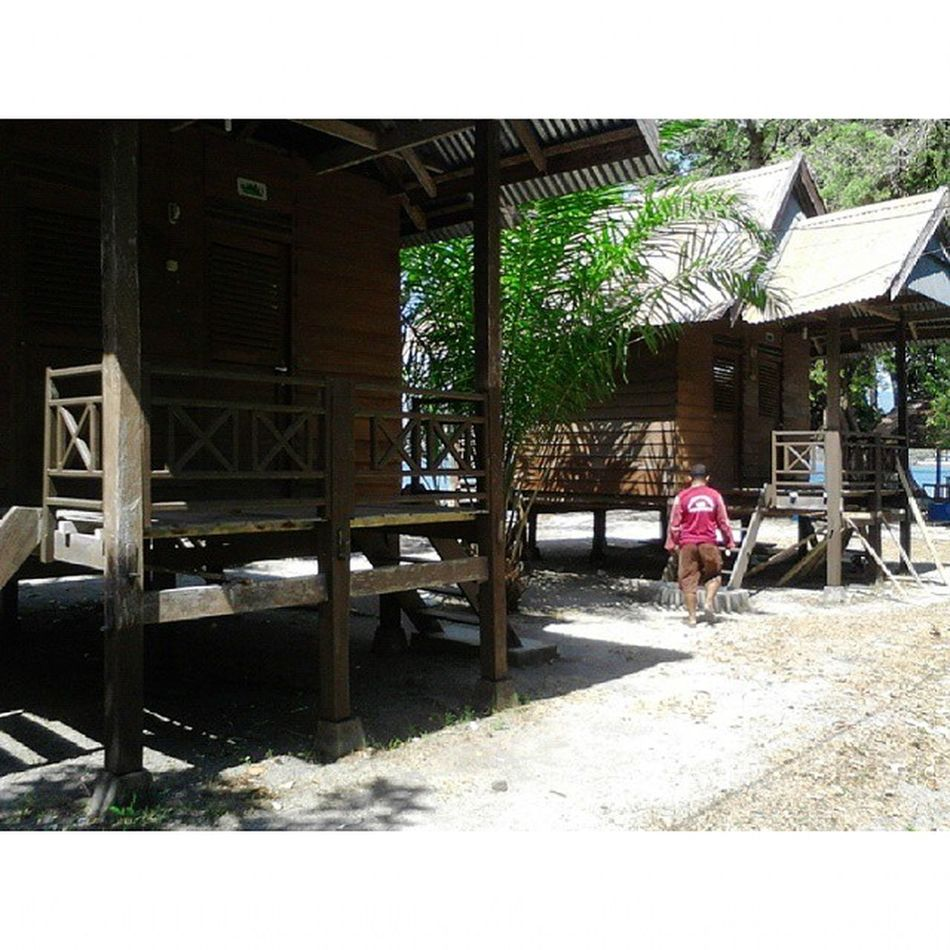 Cottage of Dutungan Island INDONESIA only Rp.250K/Night