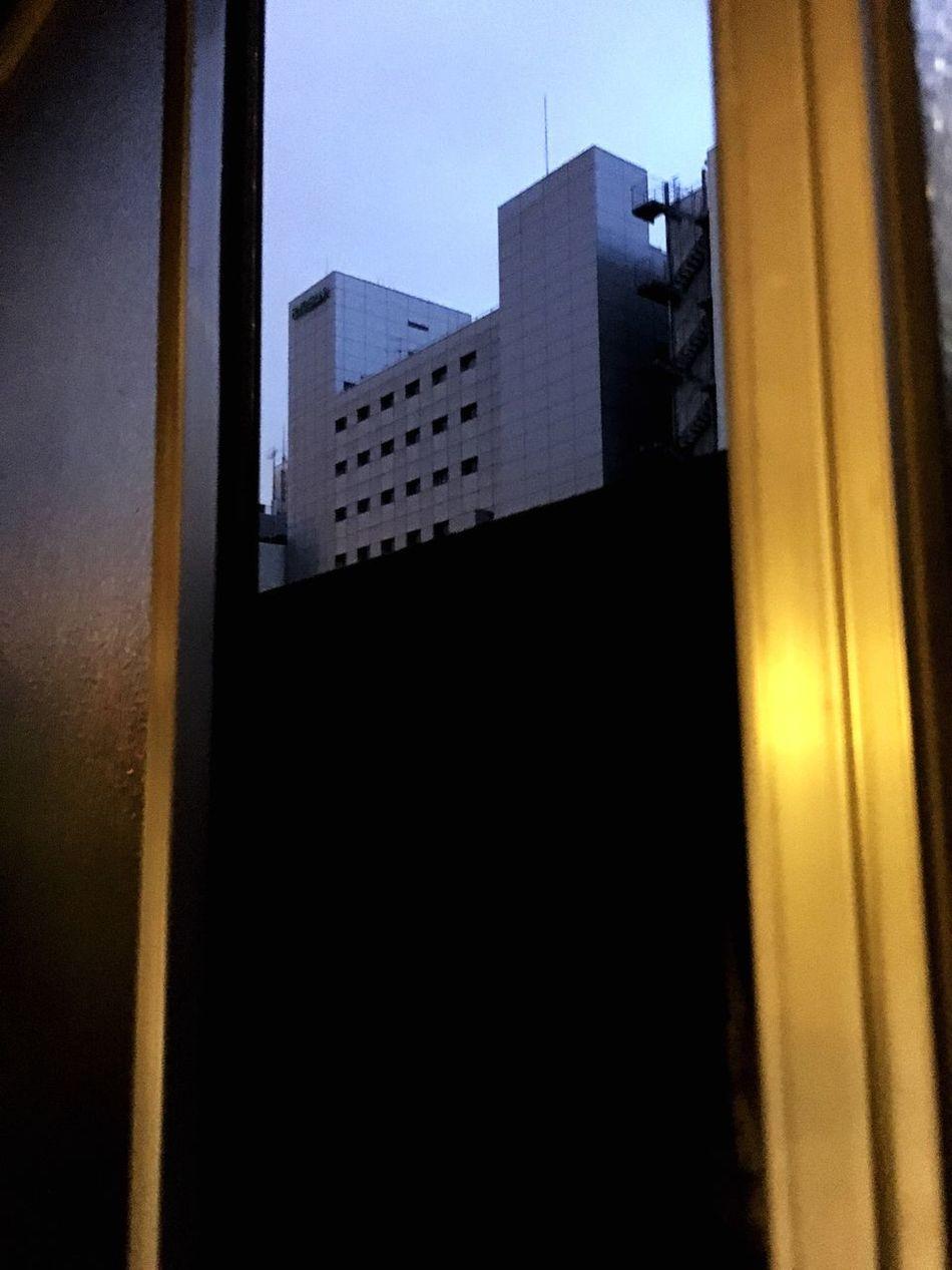 City Window Building Exterior Cityscape Evening