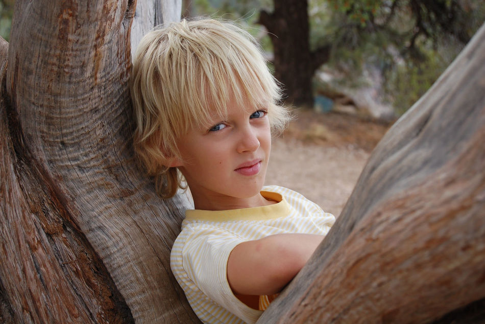 Beautiful stock photos of niedlich, 6-7 Years, Boys, Outdoors, blond Hair
