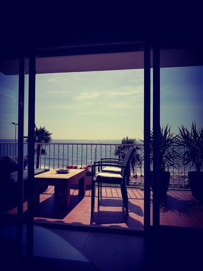 The Magic Mission Indoors  Tree Window Sea Sunlight Cloud Water Domestic Life Terrace