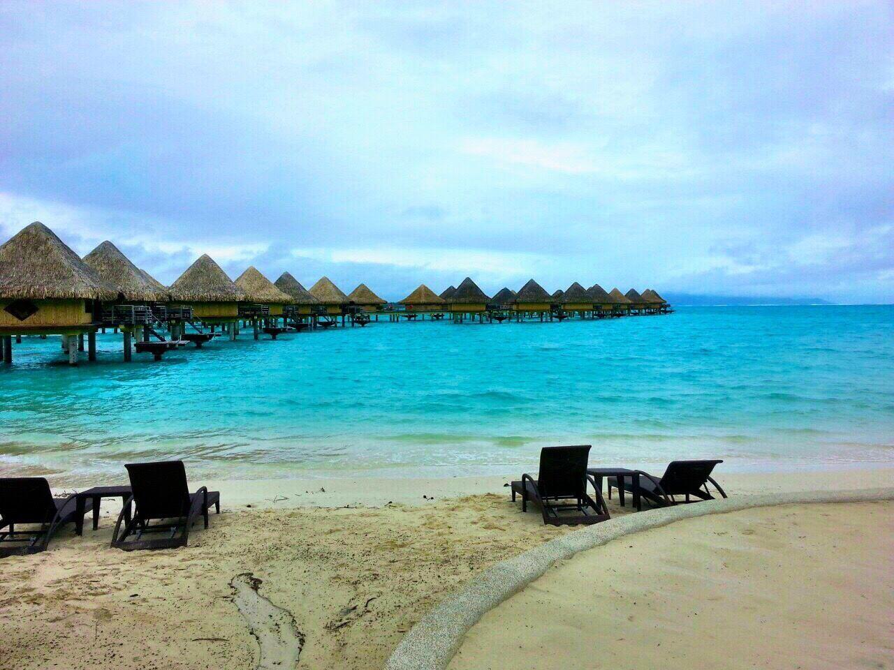 Beautiful stock photos of bora bora,  Beach,  Beauty In Nature,  Blue,  Cloud - Sky
