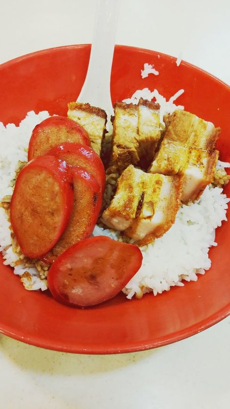Cantonese Style Bbq Pork Rice Hea Lunch