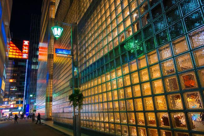 Ginza in Tokyo Ginza Night Lights Nightphotography Night Photography Streetphotography Street Photography Light And Shadow People Eye4photography  EyeEm Best Shots Architecture