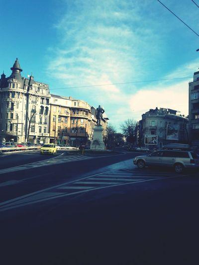 Capital City Old Buildings Bucharest Sky And Clouds Mihail Kogalniceanu Artphoto Allaroundtheworld