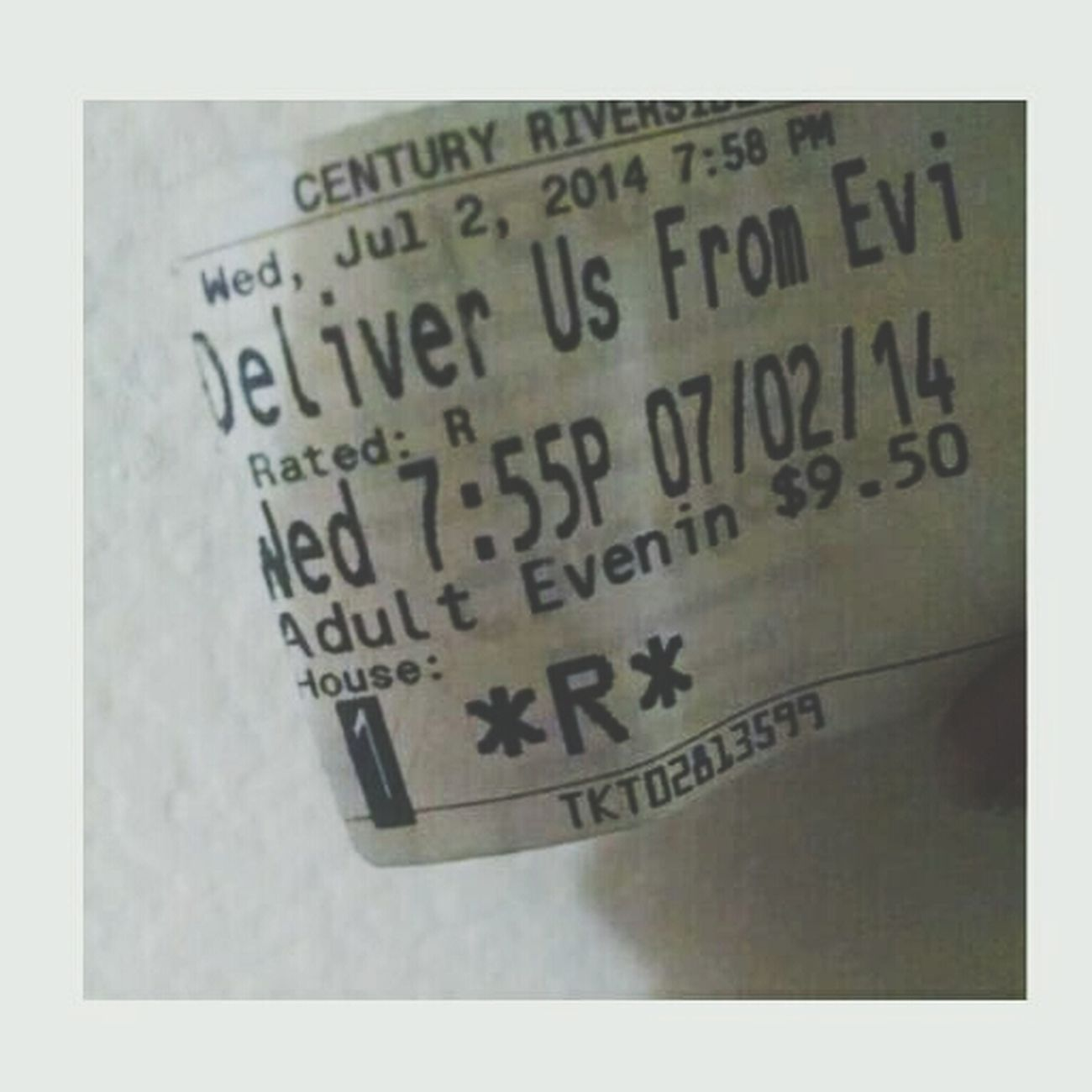 Yesterday, I experienced an exorcism... Deliver Us From Evil Trippy Creepy Movie