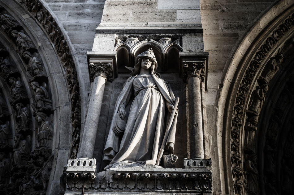 Beautiful stock photos of notre dame,  Architecture,  Art And Craft,  Day,  History