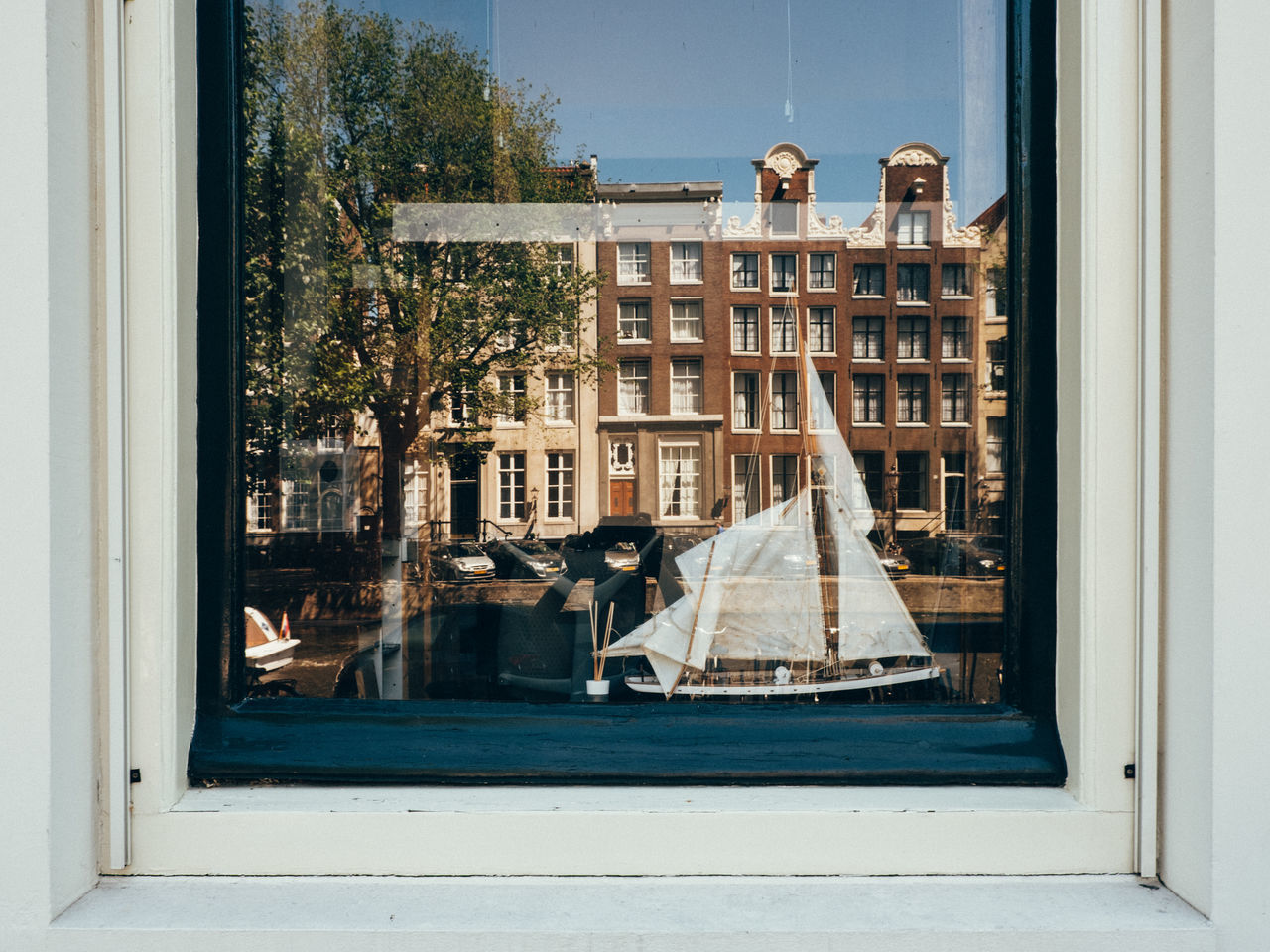 Amsterdam Architecture Building Exterior Built Structure Day Façade Netherlands Reflection Window