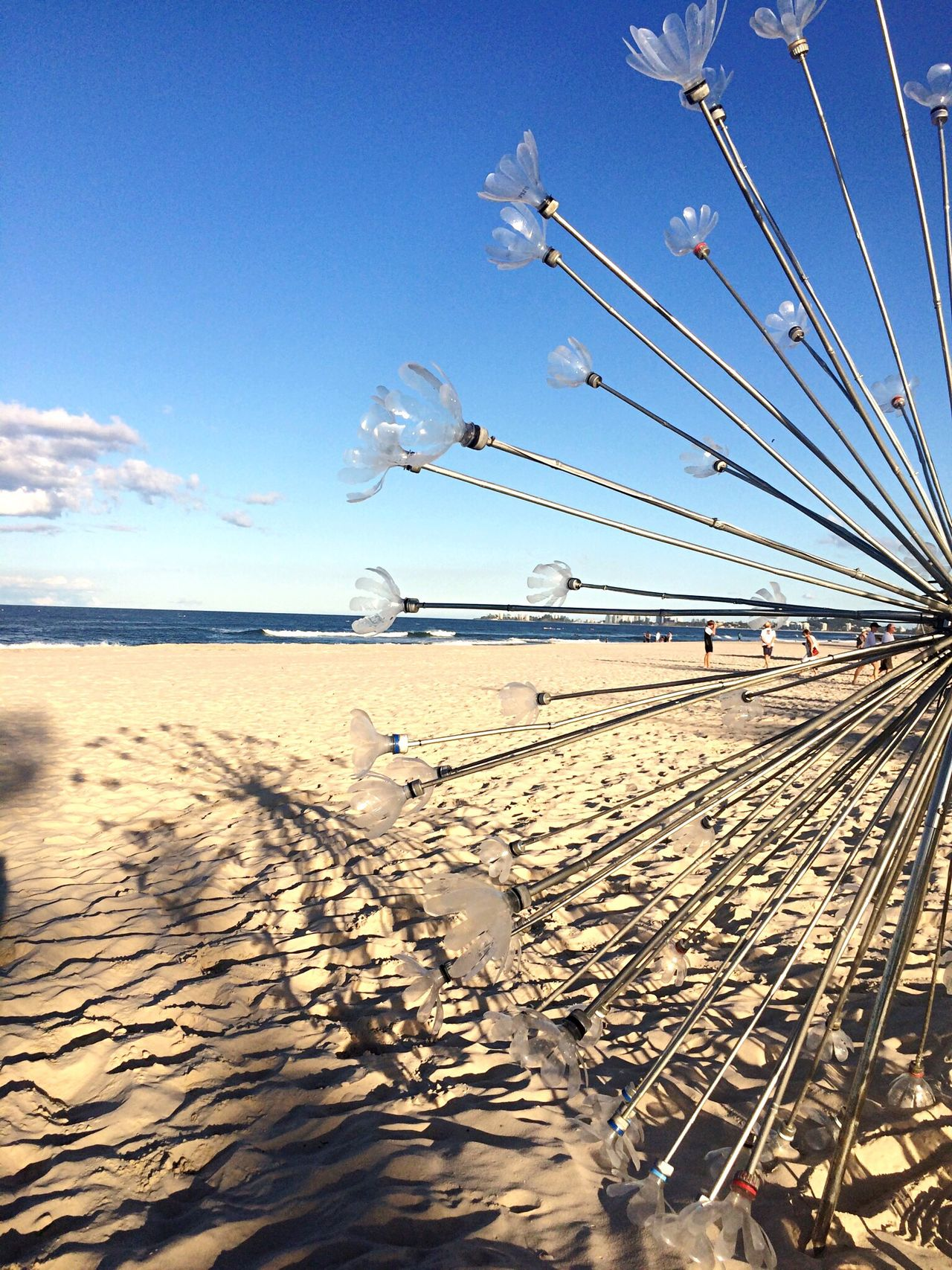 Sea Beach Sky Water Sand Cloud - Sky Day Art Installation - Swell Festival