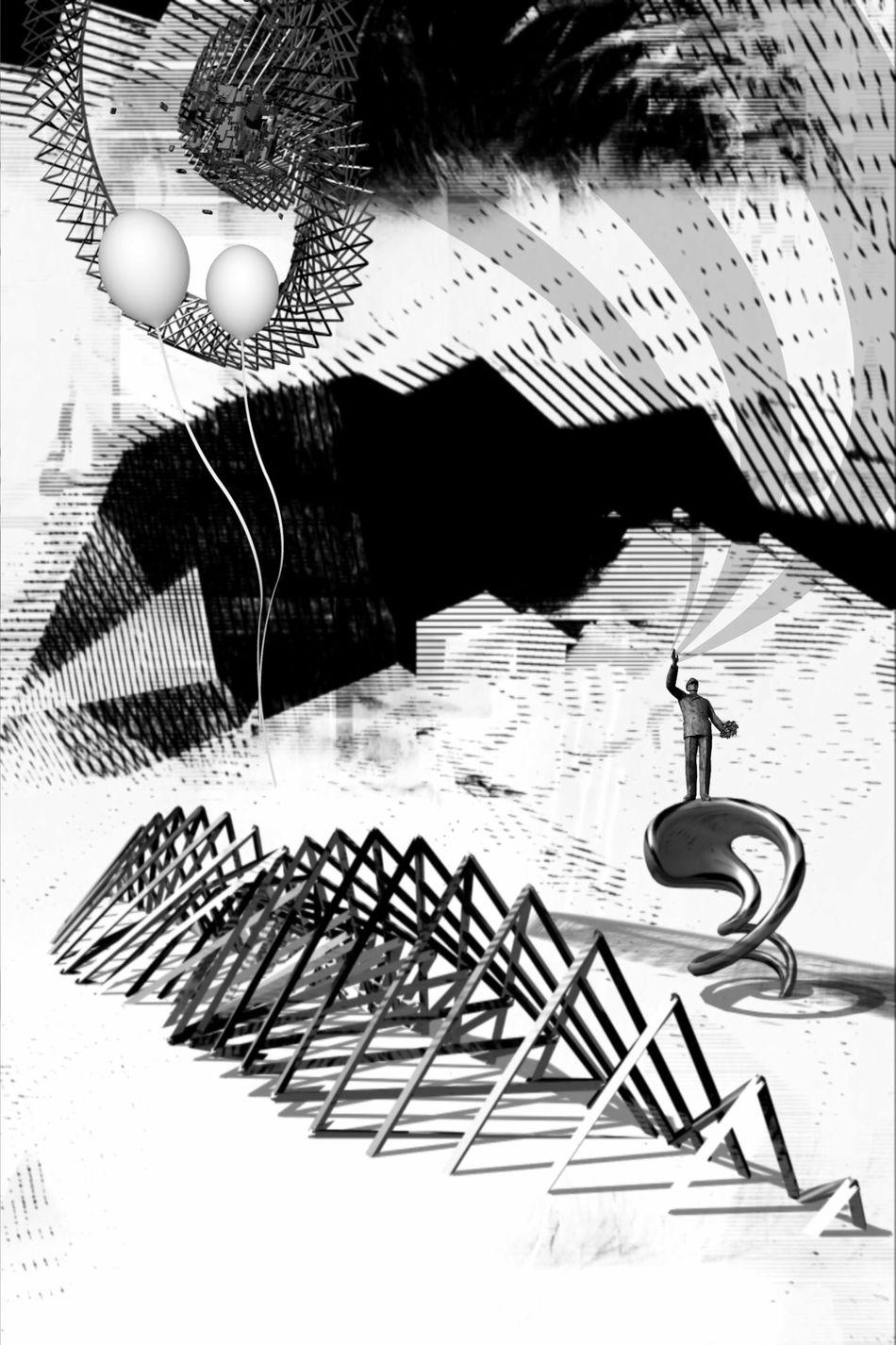 Para cima, sem volta We Are Juxt Surrealism Mob Fiction NEM Submissions