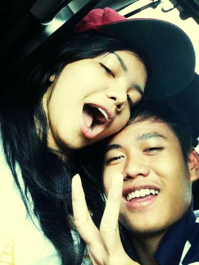 Taking Photoswith My Lovely Girl