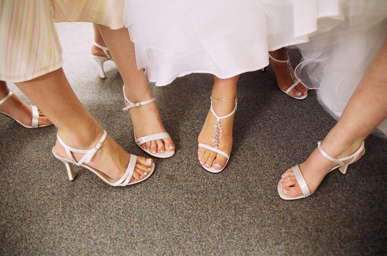 Low Section Of Women In High Heels